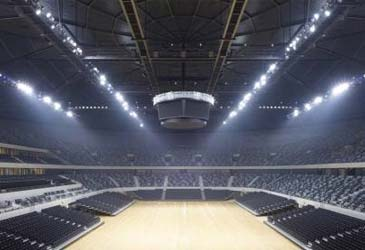 indoor stadium
