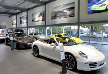 automotive retail lighting